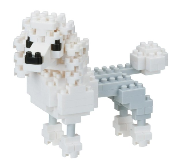 nanoblock: Dogs Series - Poodle