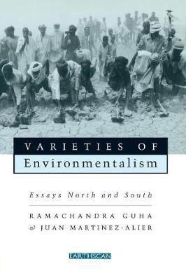Varieties of Environmentalism by Ramachandra Guha