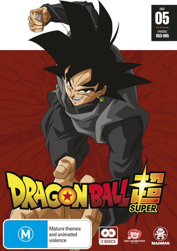 Dragon Ball Super Part 5 (eps 53-65) on DVD