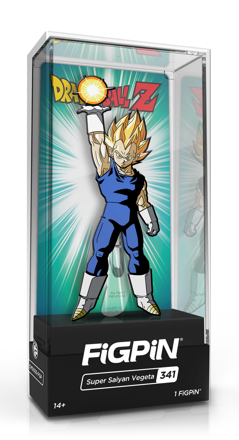 Dragon Ball Z: Super Saiyan Vegeta (#341) - Collectors FiGPiN image