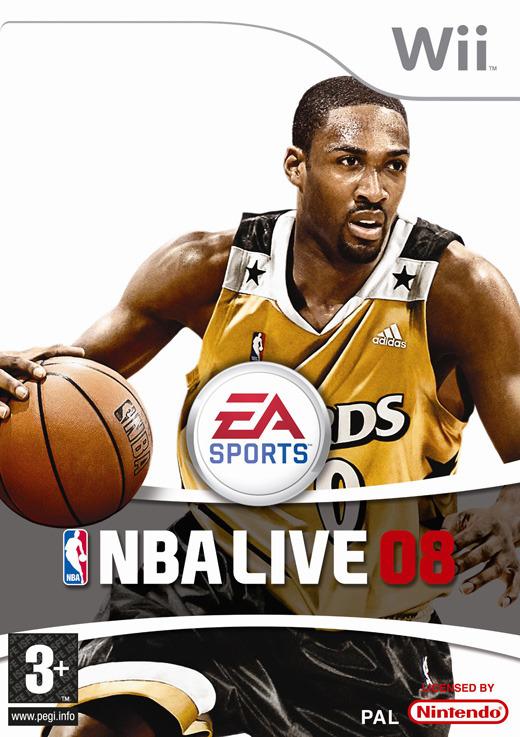 NBA Live 08 for Nintendo Wii