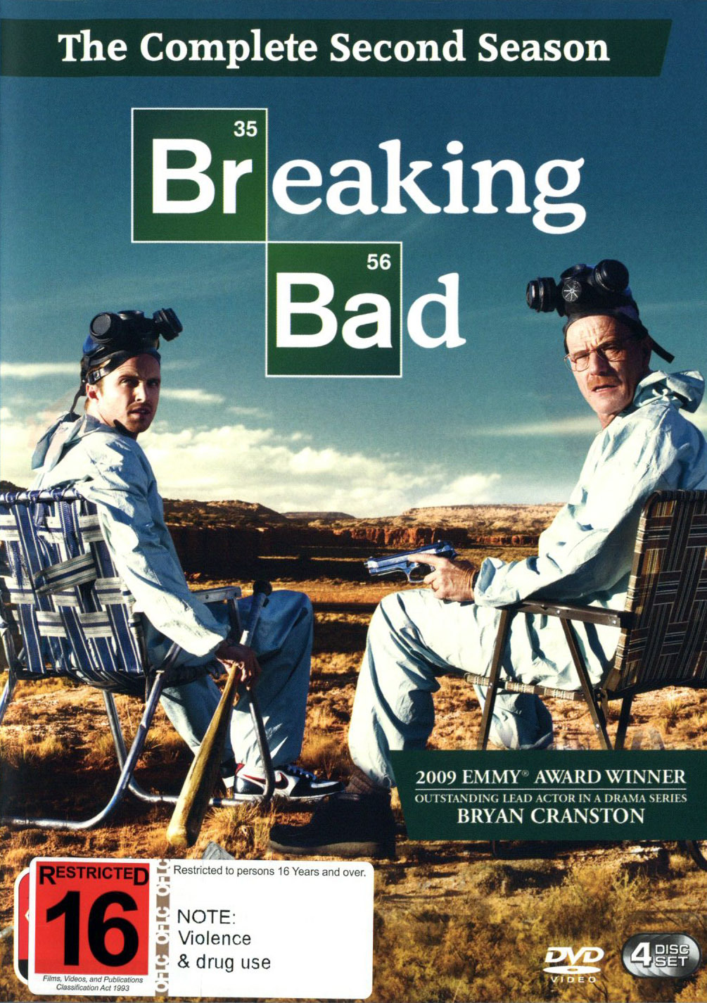Breaking Bad - The Complete Second Season on DVD image