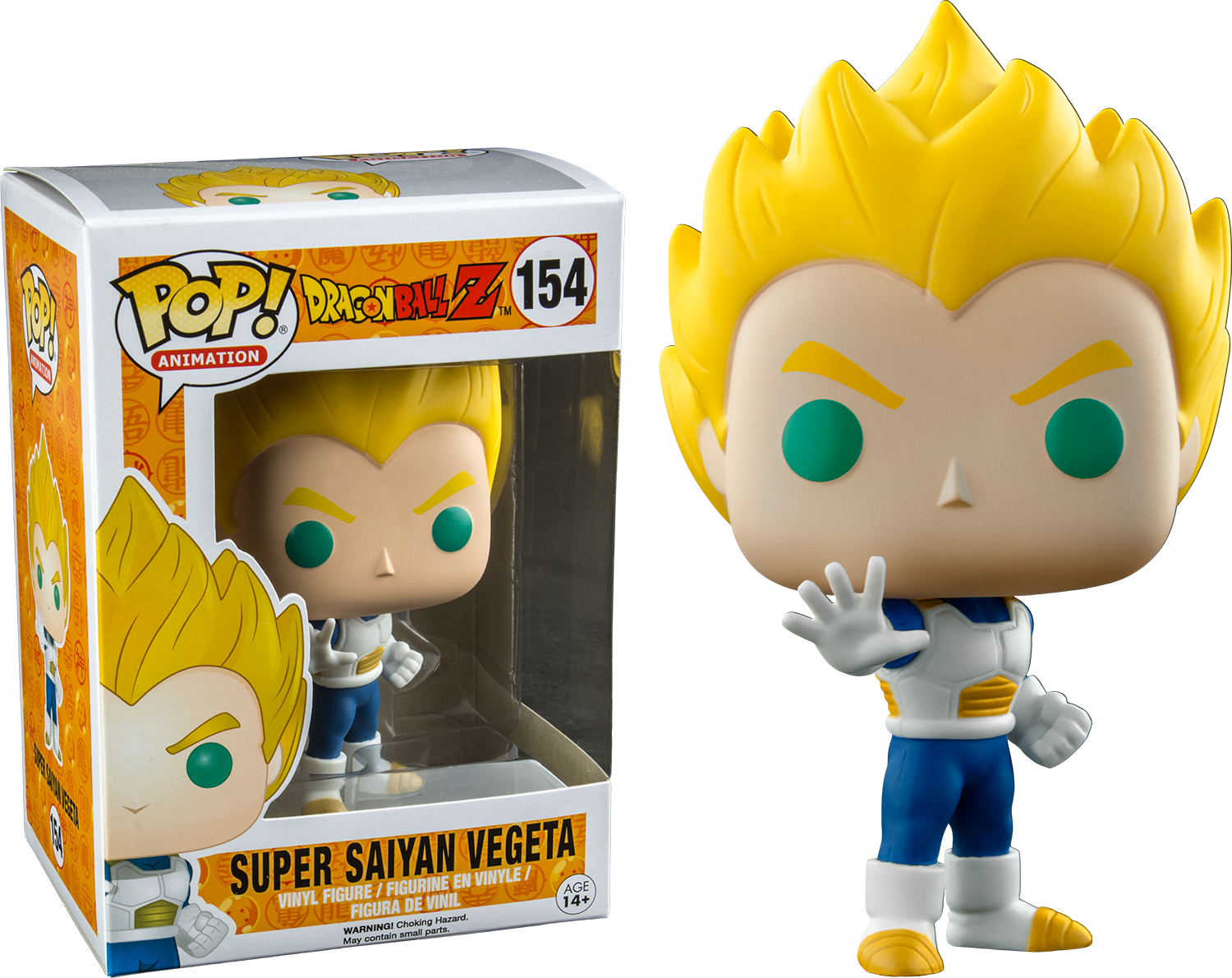 Dragon Ball Z - Vegeta (Super Saiyan) - Pop! Vinyl Figure image