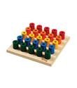 Tri-ang Wooden Build Up Peg Board