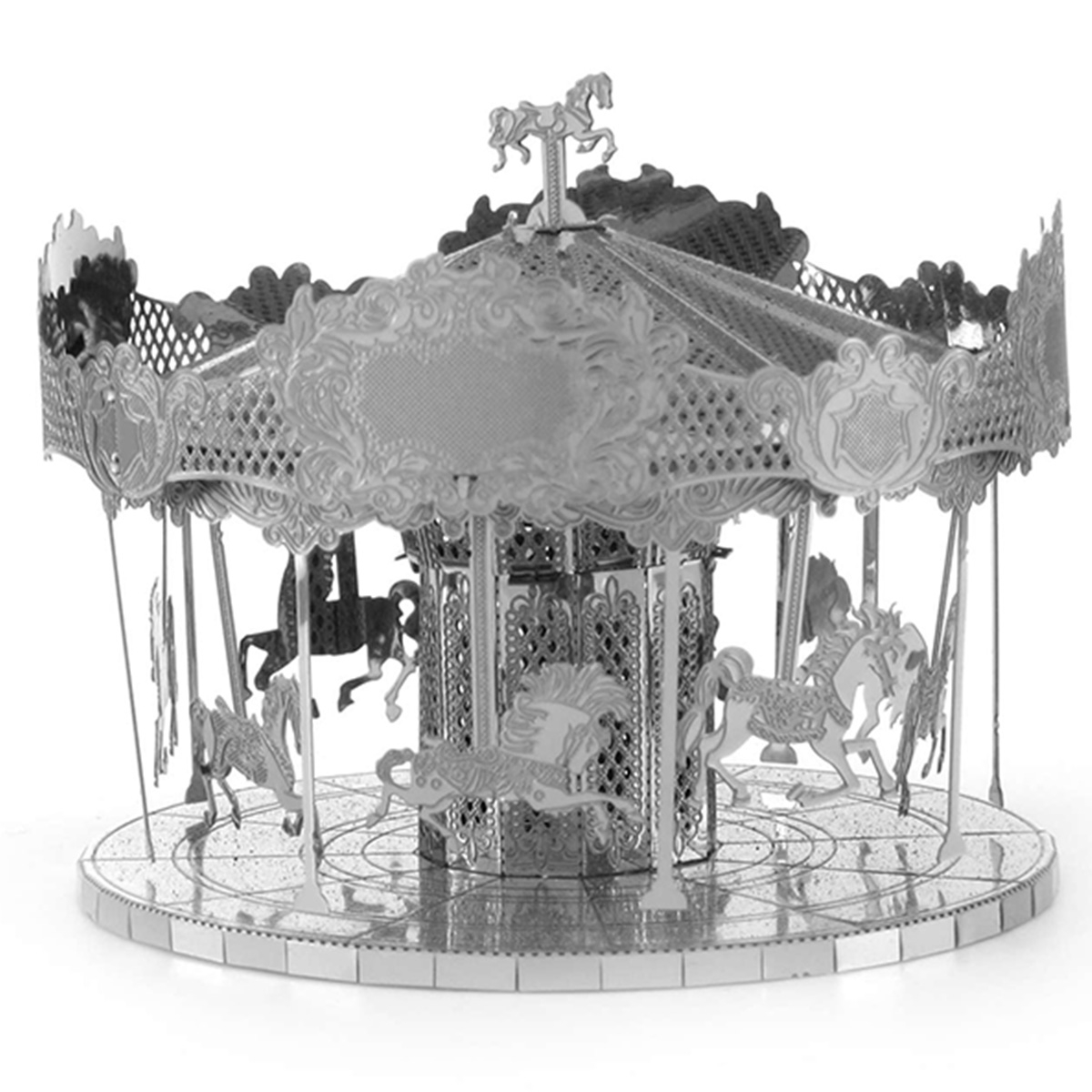 Metal Earth: Merry Go Round - Model Kit image
