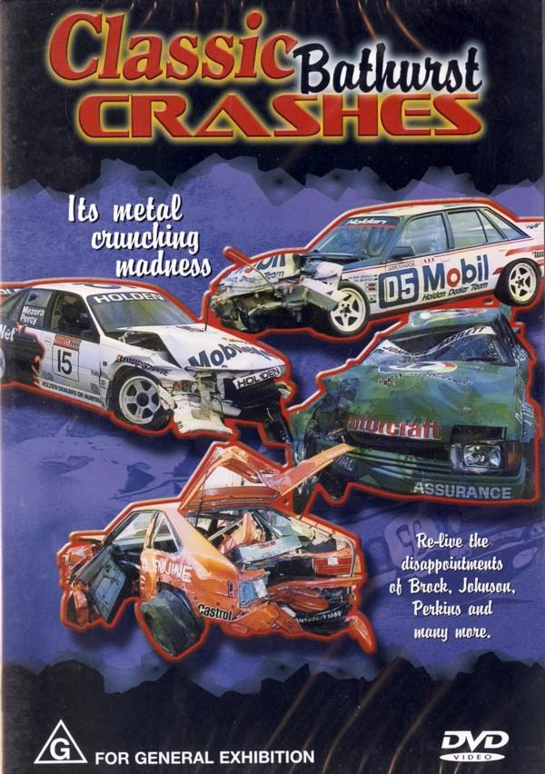 Classic Bathurst Crashes on DVD image
