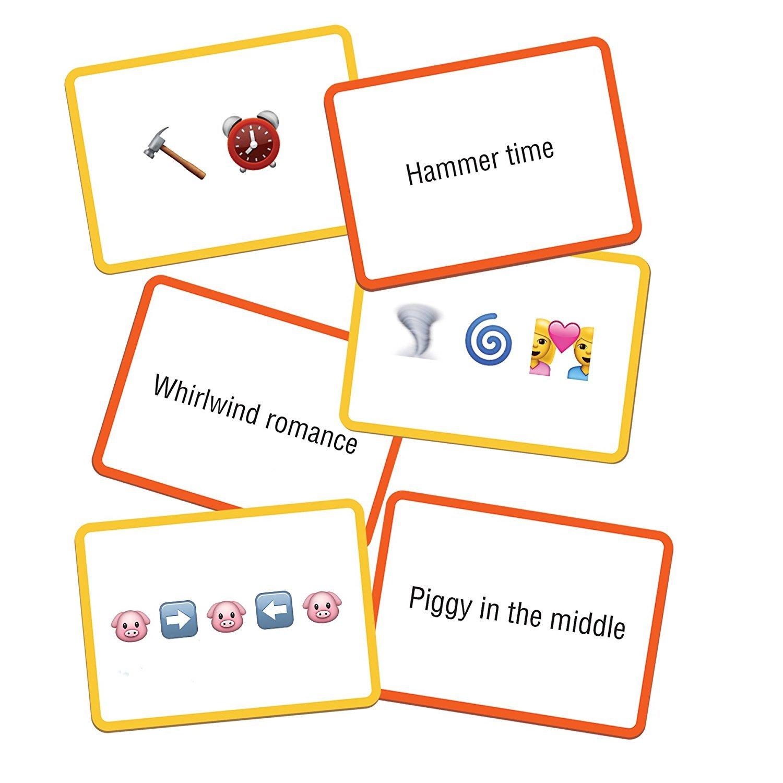 Name the Emoji - Flash Card Game