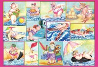 Ravensburger : Bathing Beauties Puzzle (1000 Pcs)