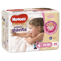 Huggies Ultimate Nappy Pants Bulk - Walker Girl 14-18kgs (28)