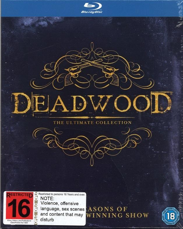 Deadwood: Seasons 1-3 on Blu-ray