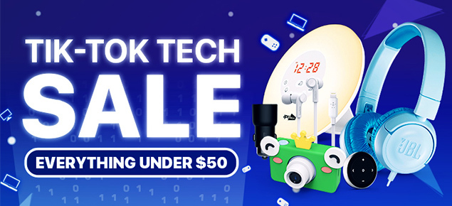 Tik-Tok Tech Deals!