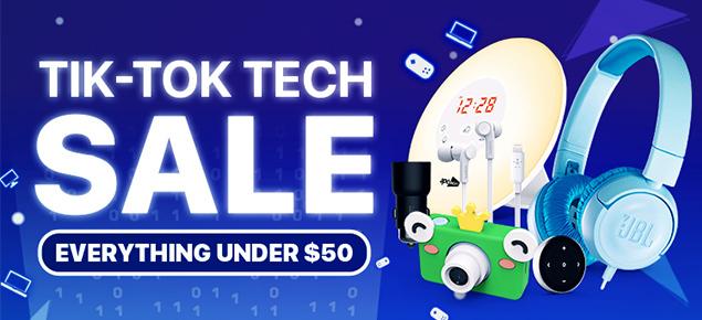 Tik-Tok Tech Deals!