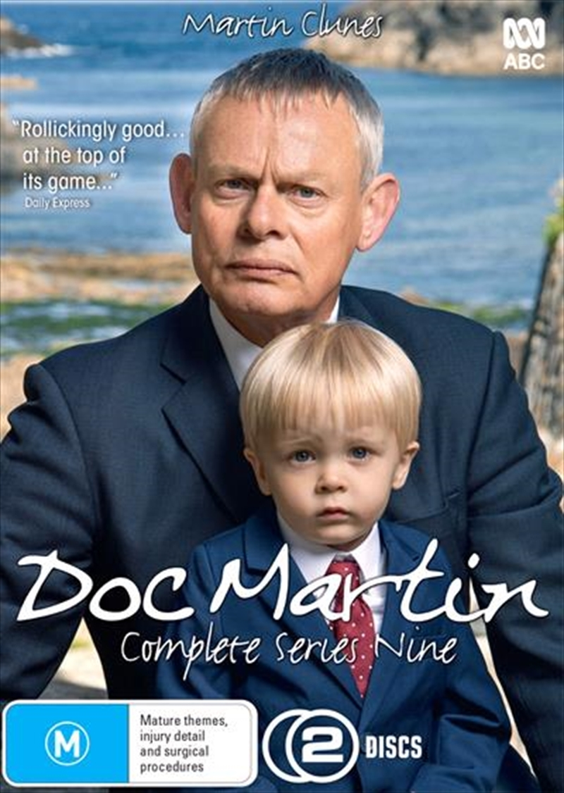 Doc Martin: The Complete Ninth Season on DVD image