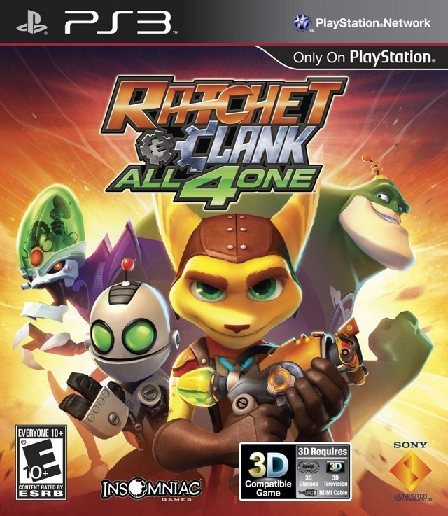 Ratchet And Clank All 4 One U S Import Region Free Ps3 Buy Now At Mighty Ape Nz