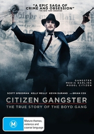 Citizen Gangster on DVD image