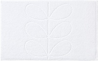 Orla Kiely Sculpted Stem Luxury Bathroom Mat - Ivory