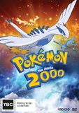 Pokemon: 2000 - The Movie on DVD