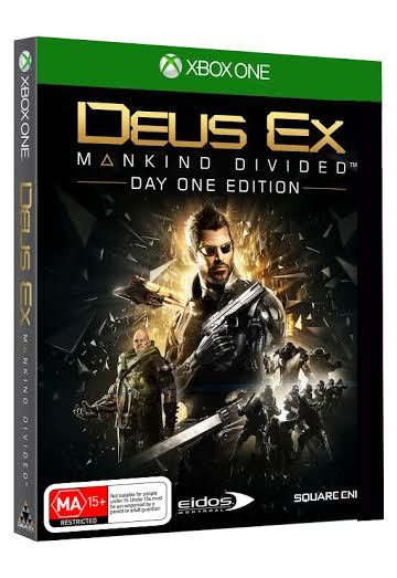 Deus Ex: Mankind Divided Day 1 Edition for Xbox One