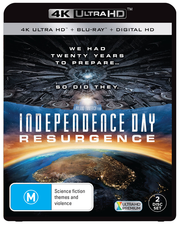 Independence Day: Resurgence on Blu-ray, UHD Blu-ray