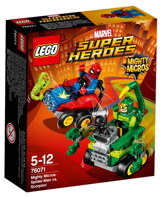 LEGO Super Heroes: Mighty Micros - Spider-Man vs. Scorpion (76071)