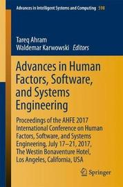 Advances in Human Factors, Software, and Systems Engineering image