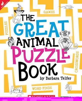 The Great Animal Puzzle Book by Barbara Telfer