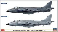 Hasegawa: 1/72 Sea Harrier FRS Mk.1 (Falklands Part 2) - Model Kit