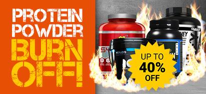 Protein Powder Burn Off!