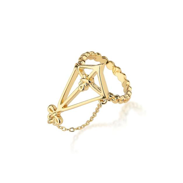 Couture Kingdom: Disney - Mary Poppins Kite Ring (Yellow Gold) Size 6
