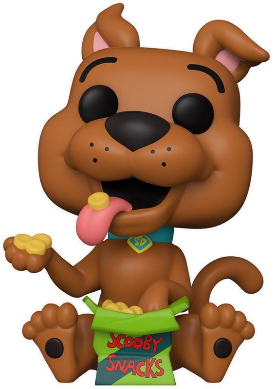 Scooby Doo (with Snacks) - Pop! Vinyl Figure