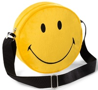 Nici: Smiley - Round Shoulderbag (Yellow)