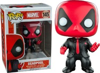 Deadpool - Suit & Tie US Exclusive Pop! Vinyl Figure