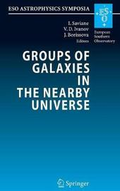 Groups of Galaxies in the Nearby Universe