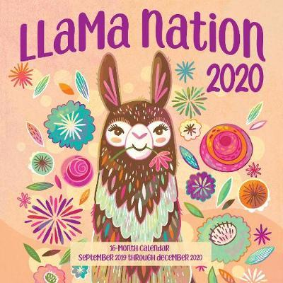 Starry Nights 2020: 16-Month Calendar - September 2020 Through December 2020 Llama Nation 2020 | Editors of Rock Point Book | Pre Order Now