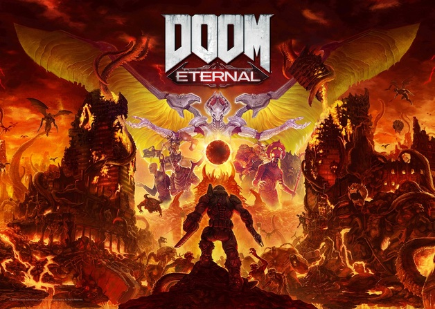Doom: Eternal - Numbered Art Print (Limited Edition)