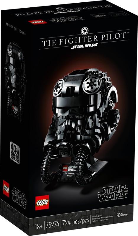 LEGO: Star Wars - TIE Fighter Pilot Helmet (75274)