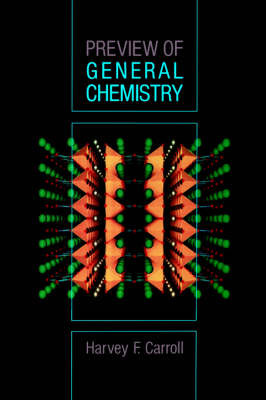 Preview of General Chemistry by Harvey F. Carroll image