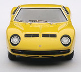 AUTOart Lamborghini Miura SV 1:43 Die-cast Model - Yellow