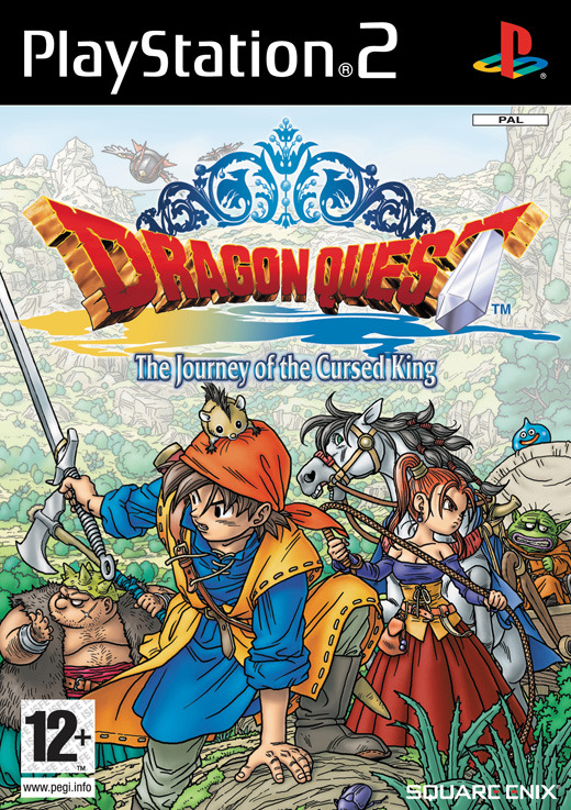 Dragon Quest: The Journey of the Cursed King (Platinum) for PlayStation 2