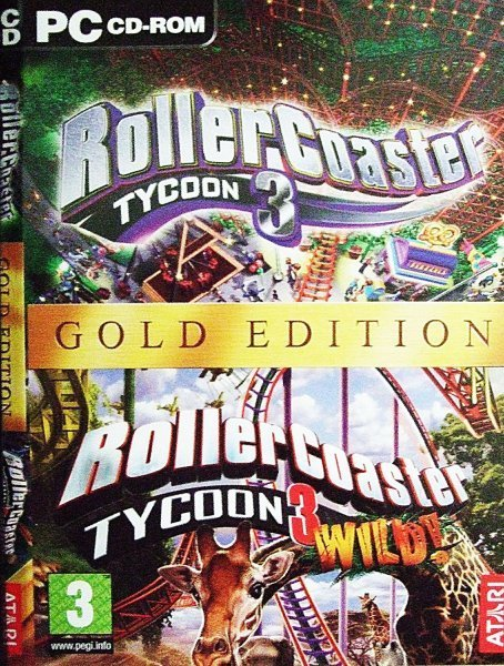 Rollercoaster Tycoon 3 Gold Edition (includes 'Wild' expansion) for PC Games