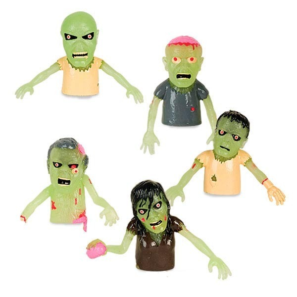 Glow Finger Zombies (set 5)