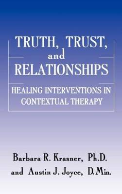 Truth and Trust in the Therapeutic Process by Barbara R Krasner image