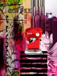 Deeanne Hobbs Canvas Print - Cafe Mocha (60 x 80cm)