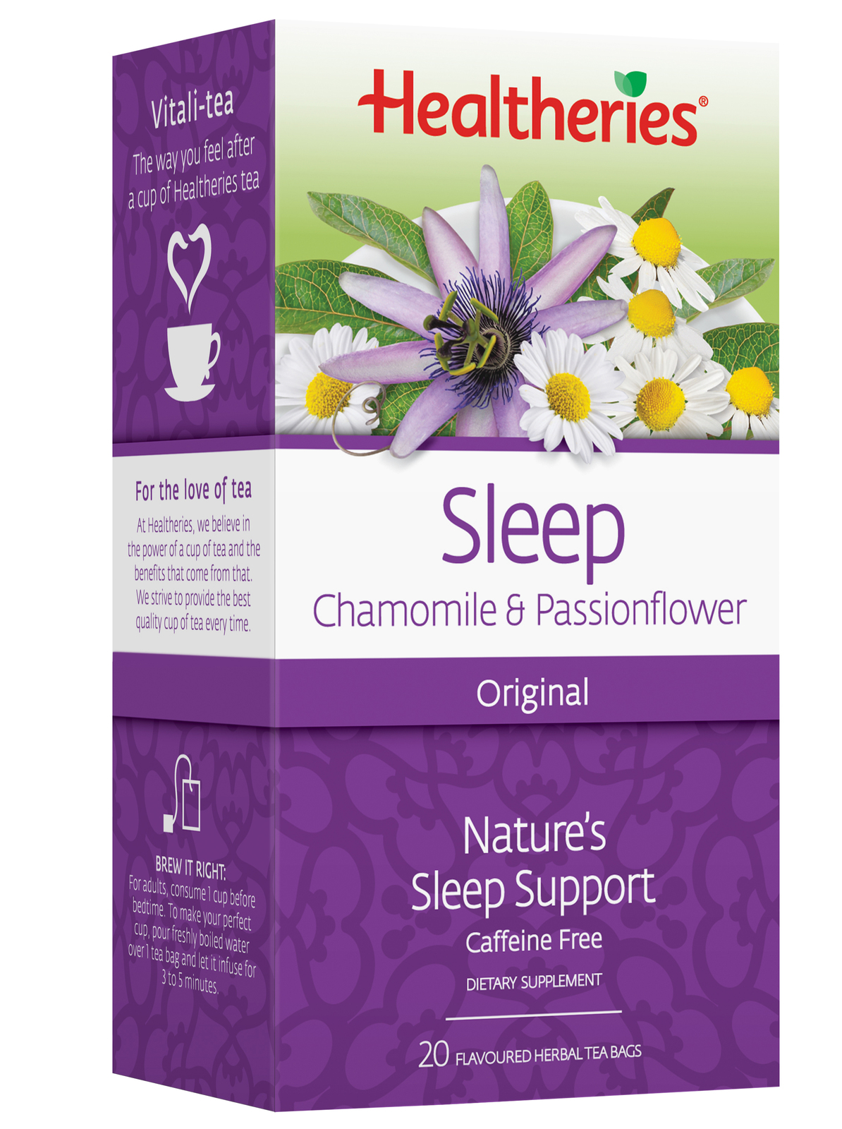 Healtheries Sleep Original Tea (Pack of 20) image