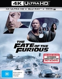 The Fate of the Furious on Blu-ray, UHD Blu-ray
