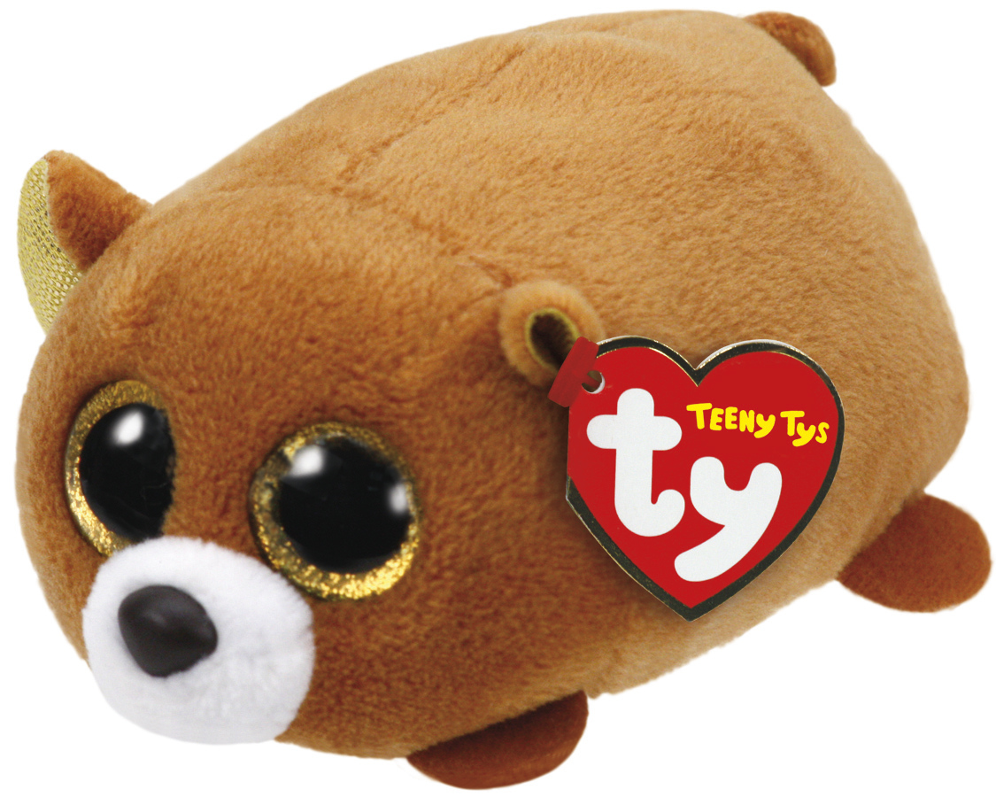 Ty Teeny: Windsor Brown Bear - Small Plush image