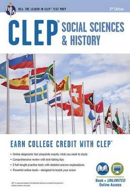Clep(r) Social Sciences & History Book + Online, 2nd Ed. by Scott Dittloff image