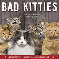 Bad Kitties 2019 Wall Calendar by Willow Creek Press