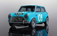 Scalextric: Austin Mini Cooper S - Targa Florio 1962