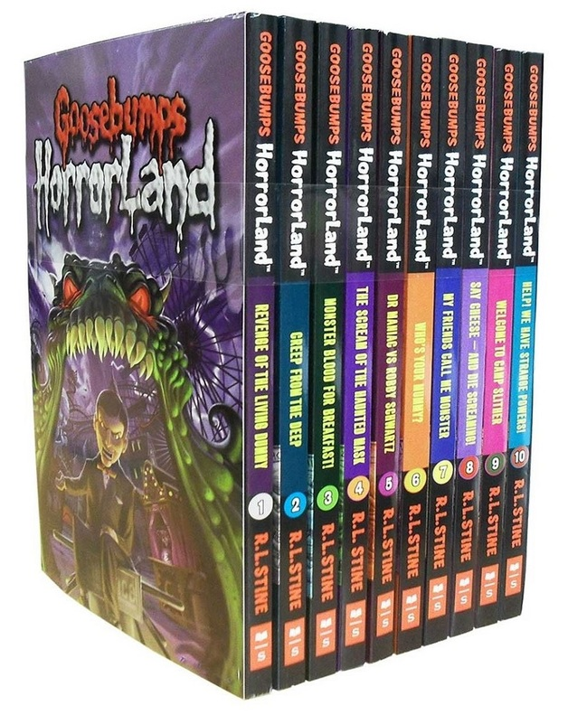 Goosebumps: Horrorland Series – 10-Book Collection by Rl Stine